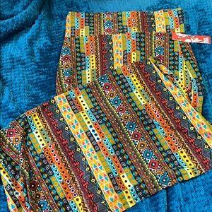 NWT print maxi skirt